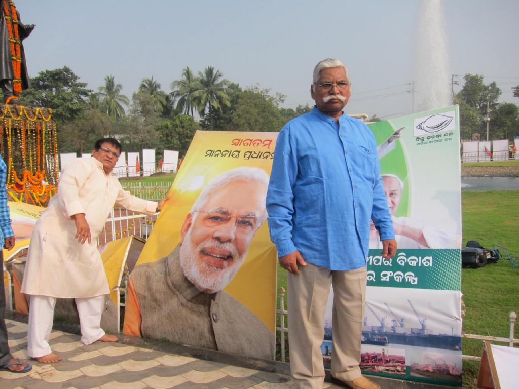 In the midst of action_Subhas Pattanayak and Pradyumna Satpathy